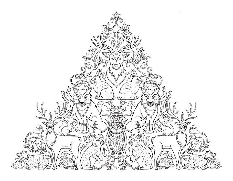 animal pyramid doodle - Animal Pyramid Doodle