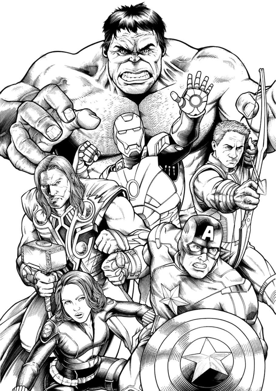 avengers doodle - Avengers Doodle