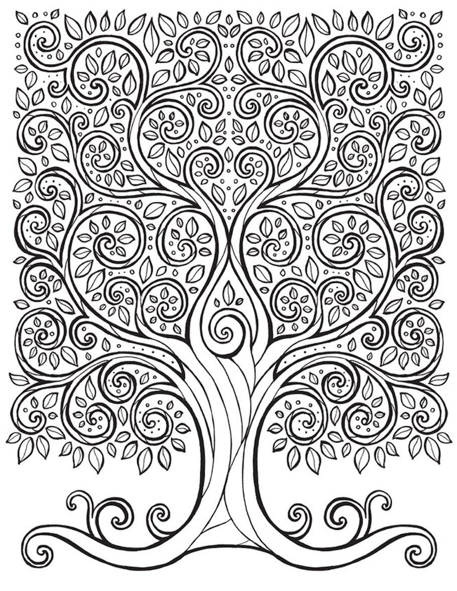 beautiful tree doodle - Beautiful Tree Doodle