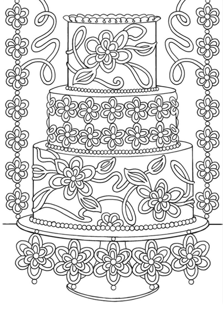birthday cake doodle 1 - Birthday Cake Doodle (1)