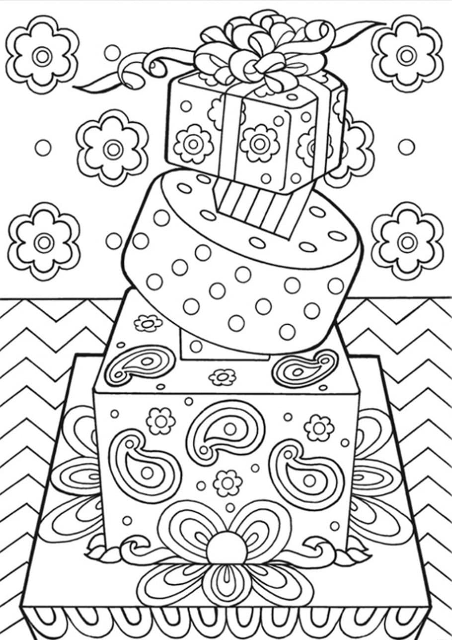 birthday doodles doodle coloring pages