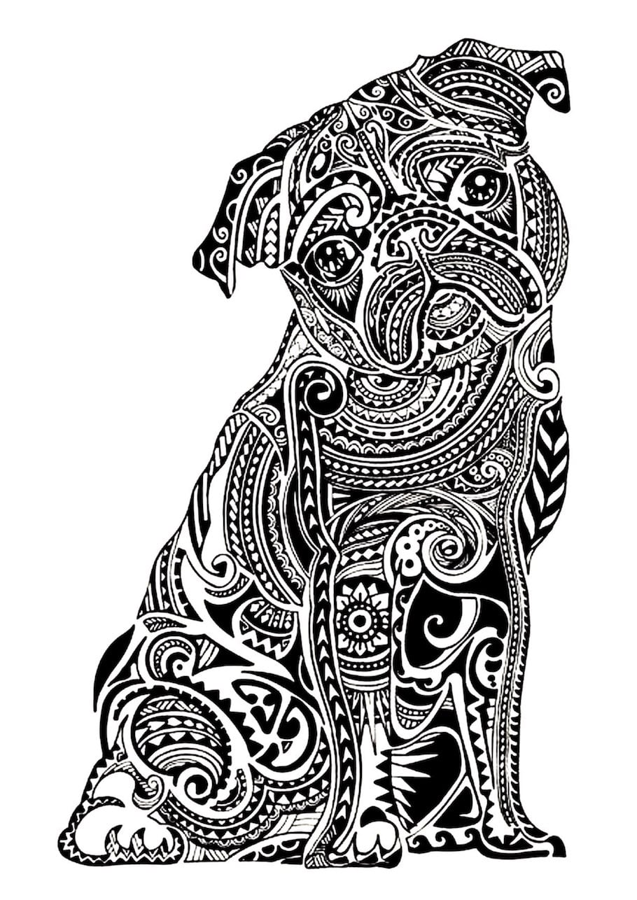 bulldog doodle - Bulldog Doodle
