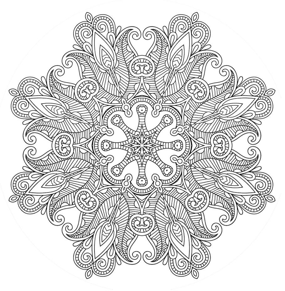 detailed mandala doodle - Detailed Mandala Doodle