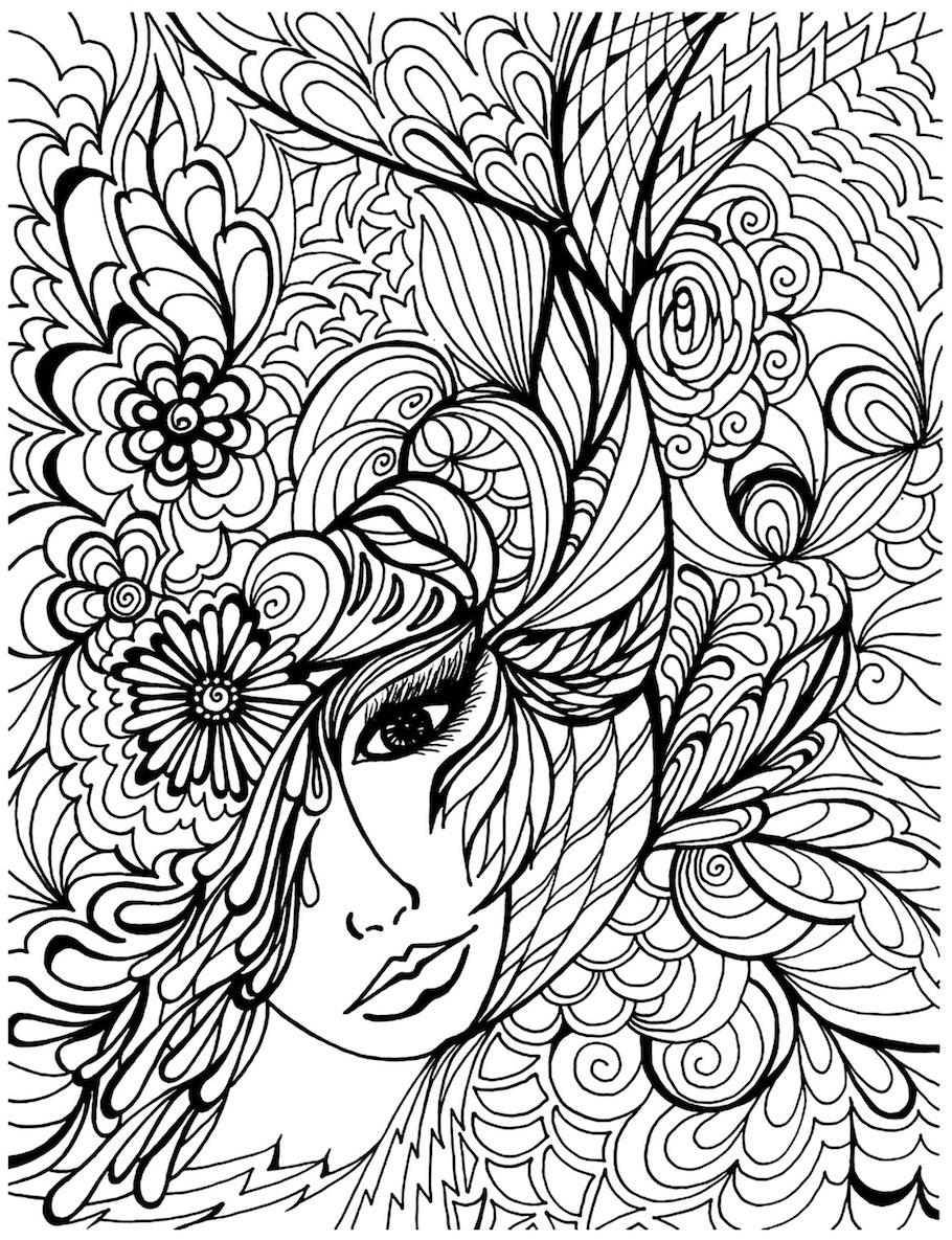 fantasy girl 3 doodle - Fantasy Girl 3 Doodle