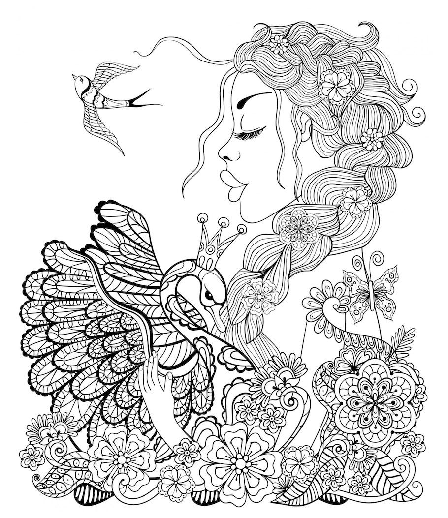 fantasy girl 4 doodle - Fantasy Girl 4 Doodle