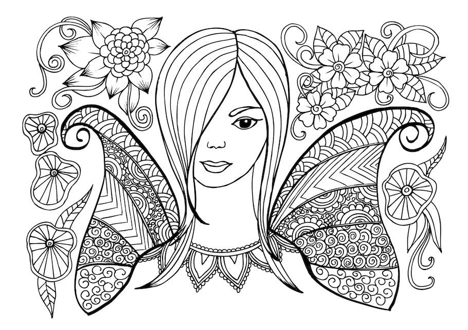 fantasy girl 5 doodle - Fantasy Girl 5 Doodle