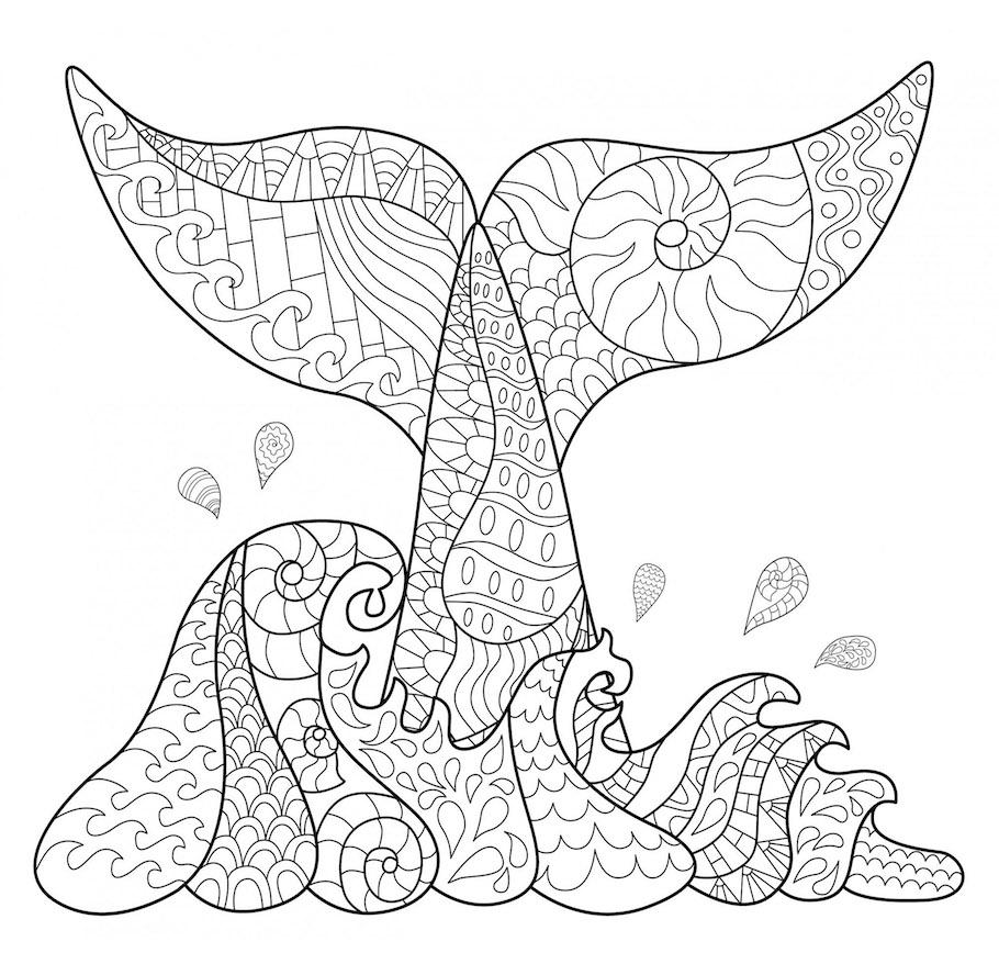 fish tale doodle - Fish Tale Doodle
