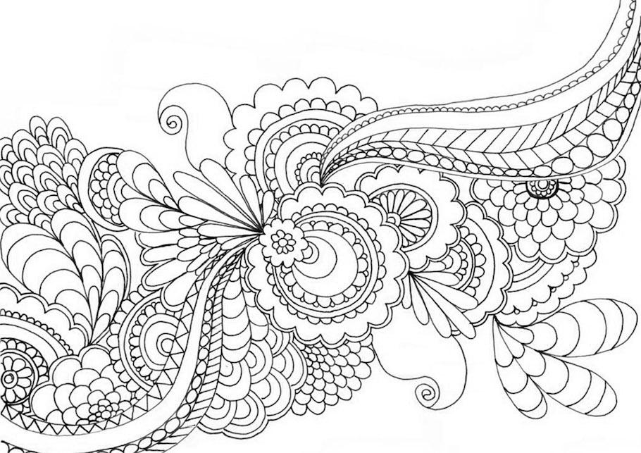 floral pattern doodle - Floral Pattern Doodle