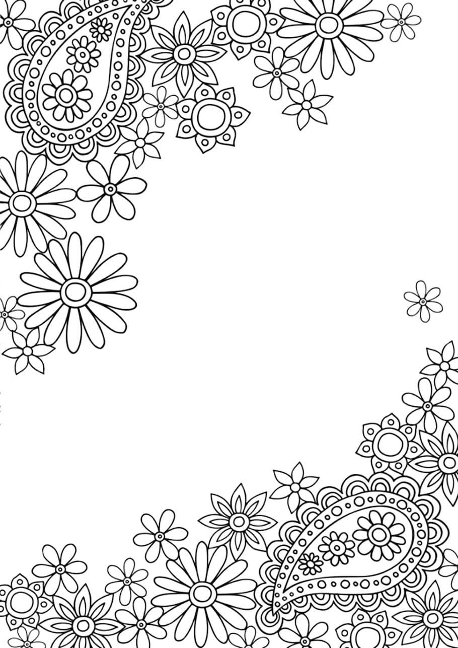 flowers doodle 12 - Flowers Doodle (12)