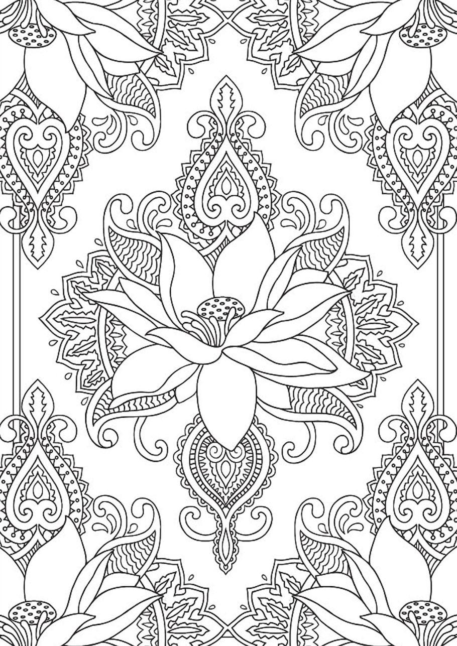 flowers doodle 3 - Flowers Doodle (3)