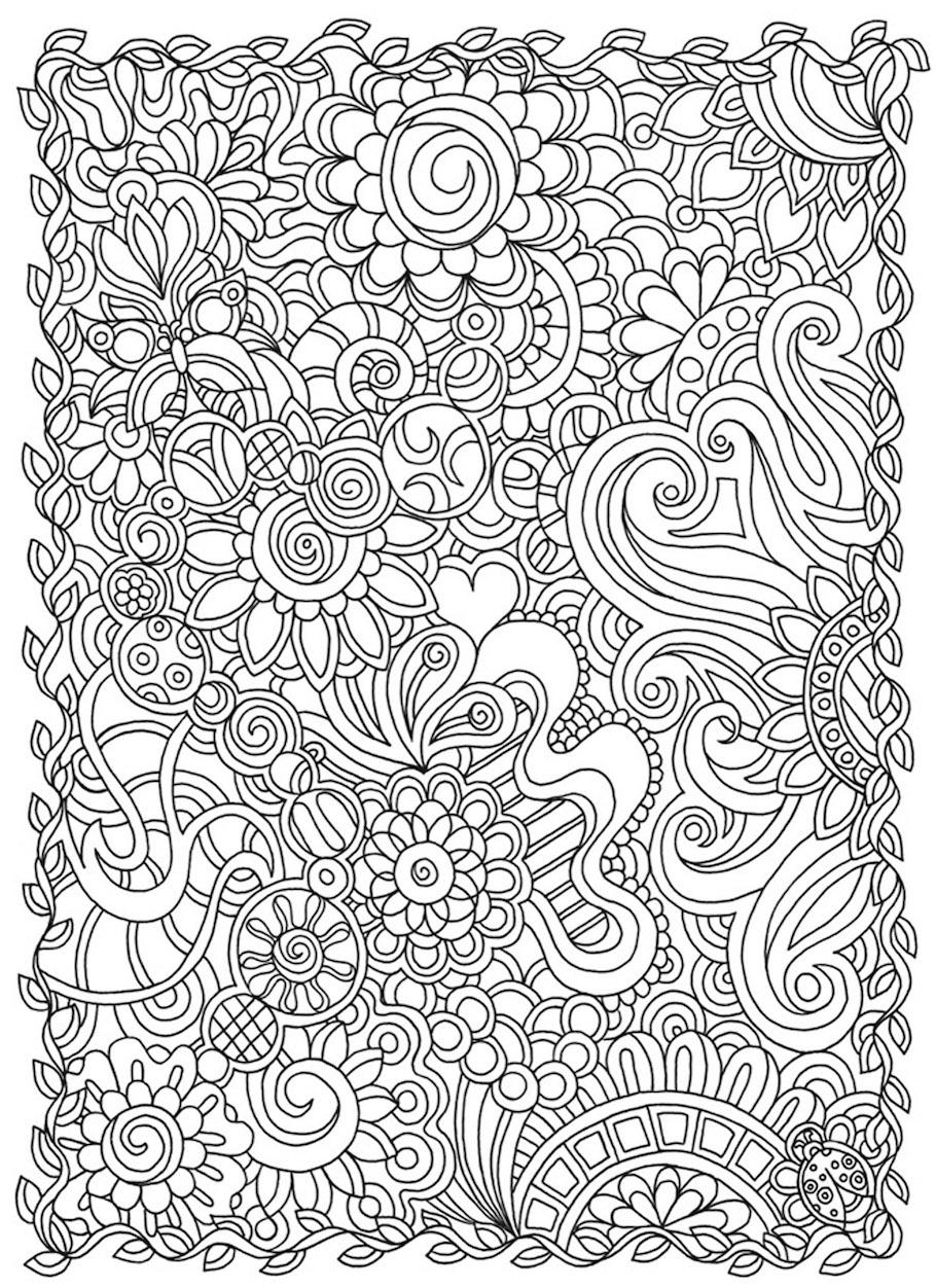 flowers doodle 4 - Flowers Doodle (4)