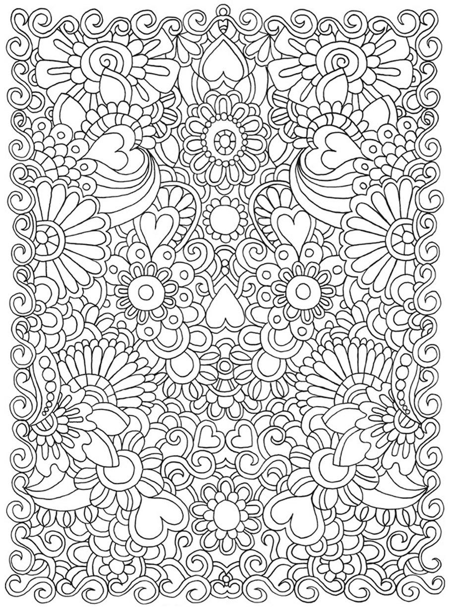flowers doodle 5 - Flowers Doodle (5)