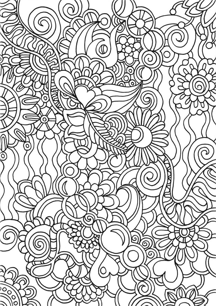 flowers doodle 6 - Flowers Doodle (6)