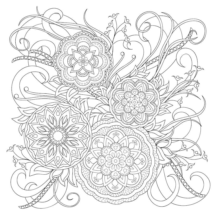flowers doodle 9 - Flowers Doodle (9)