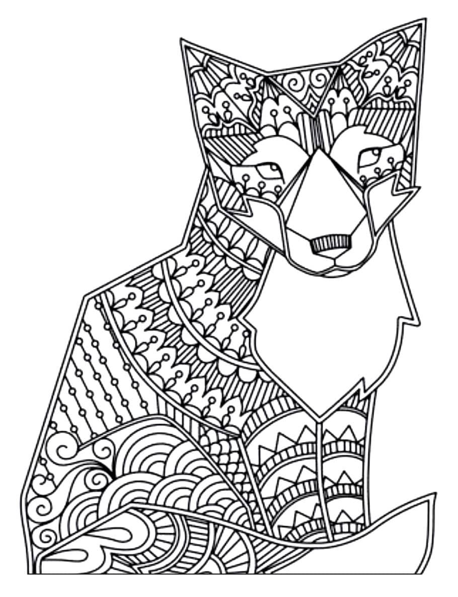 fox doodle 1 - Fox Doodle