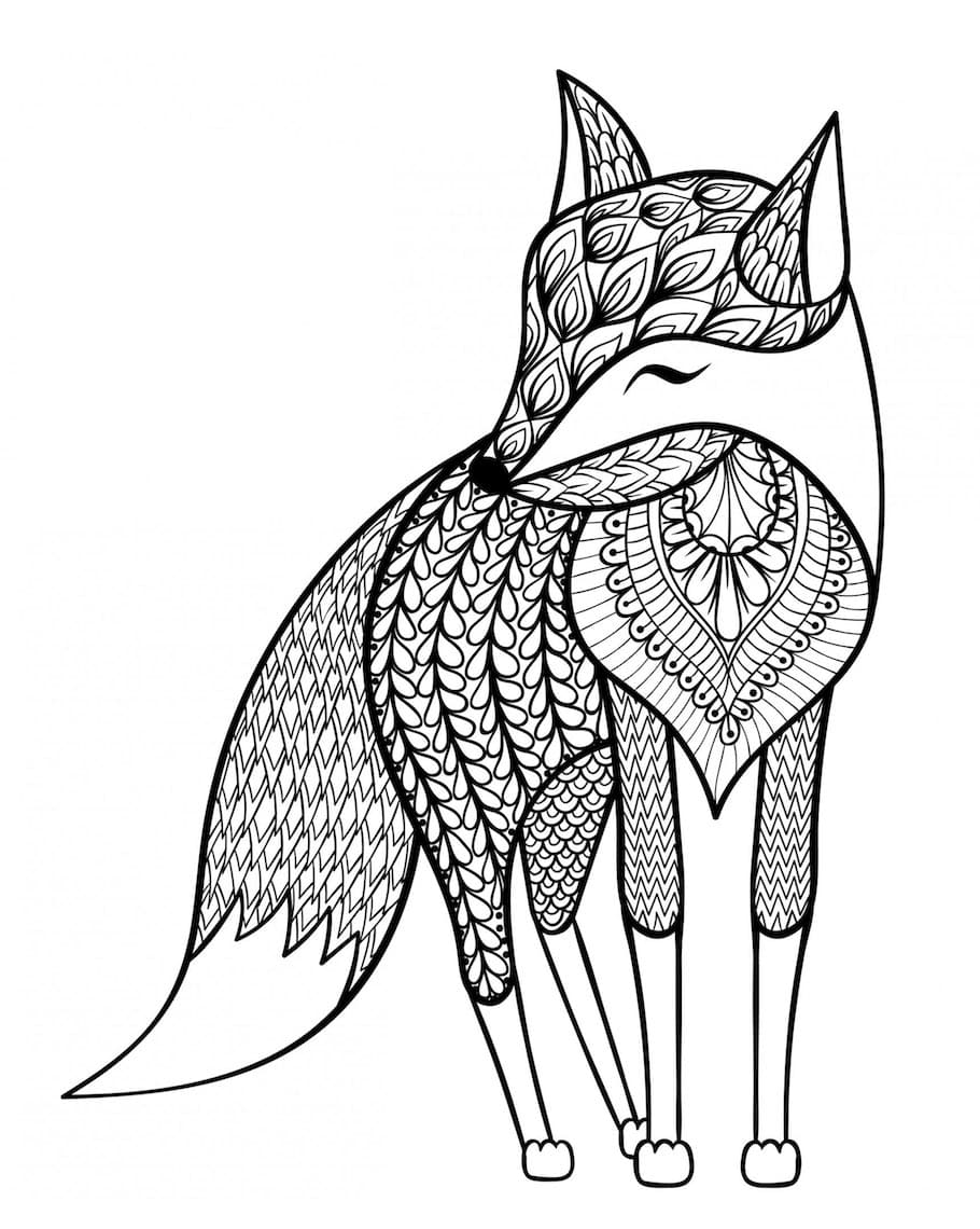 fox doodle 2 - Fox Doodle (2)