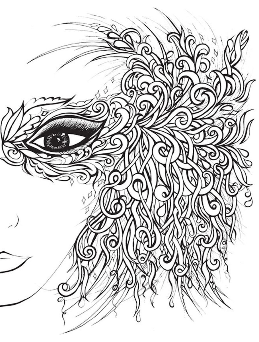free mystical coloring pages - photo#25