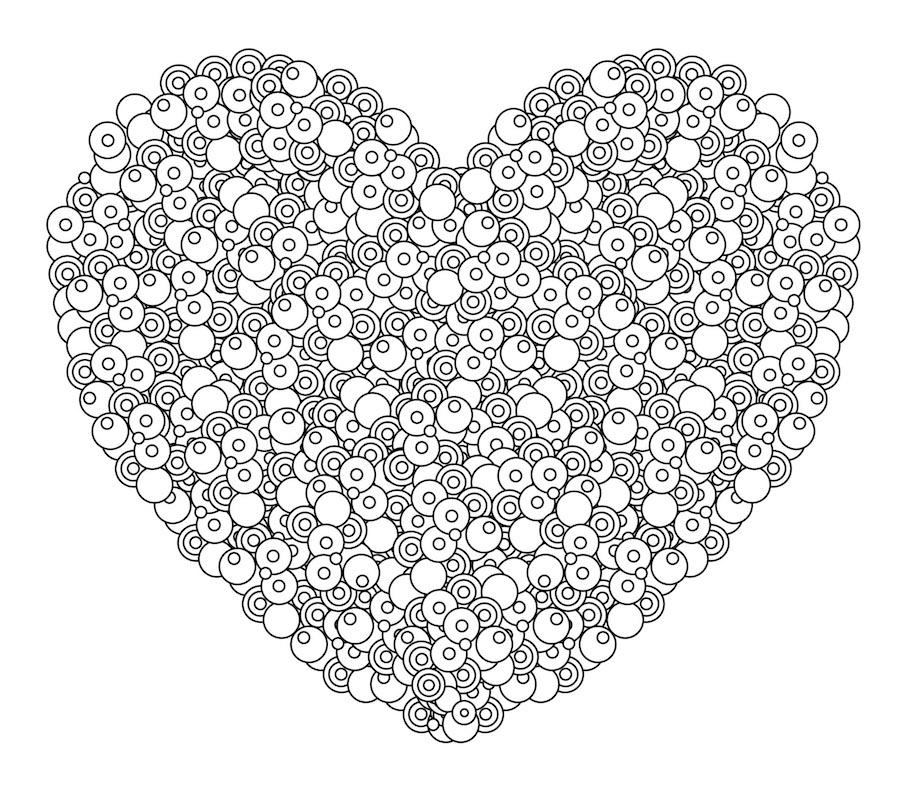 heart doodle 3 - Heart Doodle