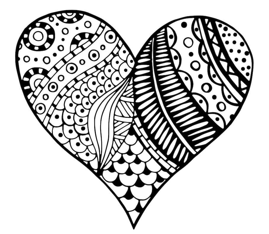 heart symbol 2 doodle - Heart Symbol 2 Doodle