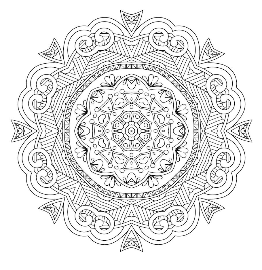 mandala doodle 2 - Mandala Doodle (2)