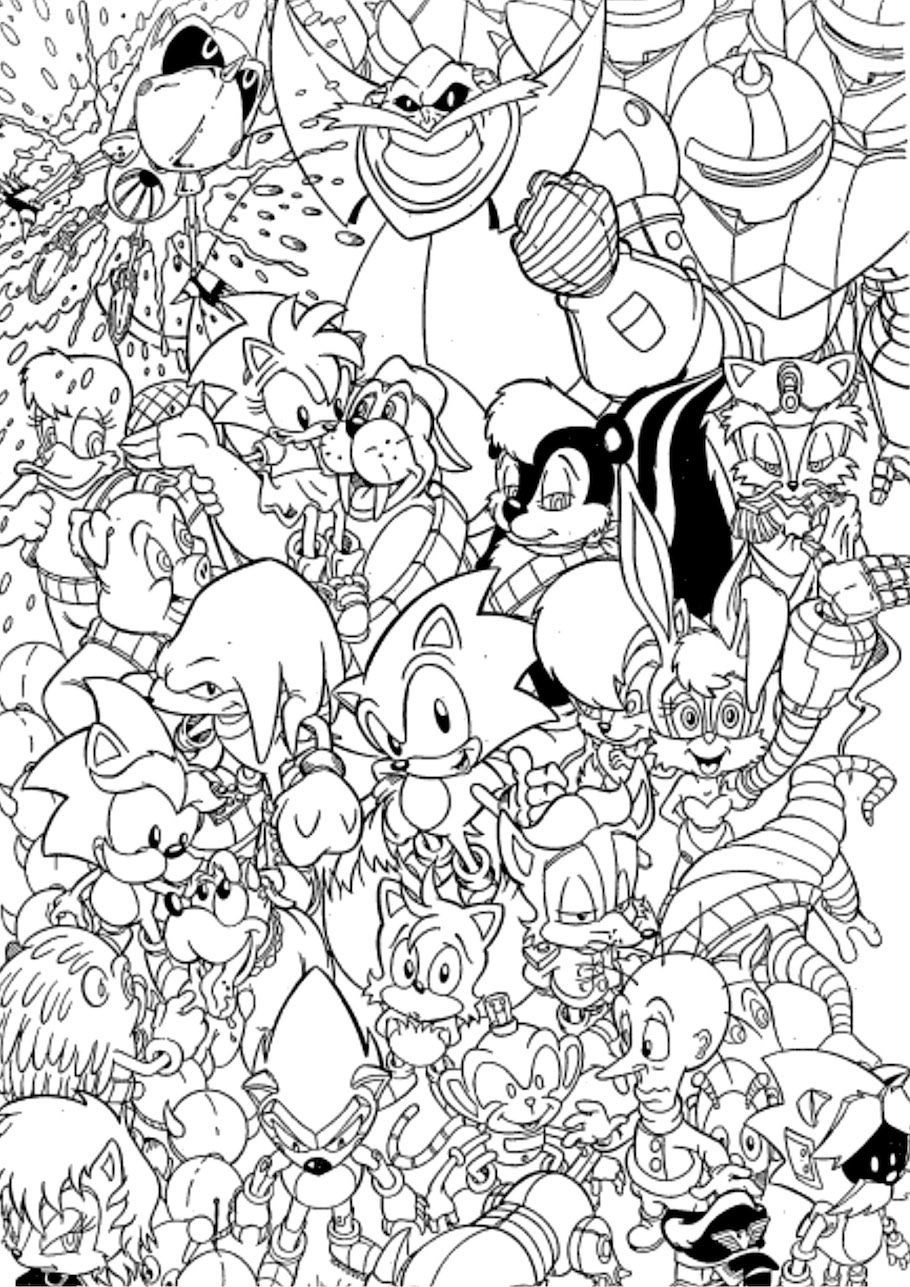 sonic the hedgehog doodle - Sonic the Hedgehog Doodle