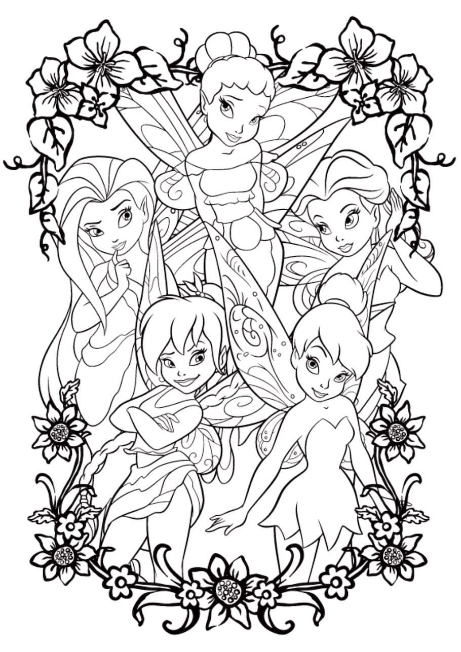 tincker fairies doodle - Tincker Fairies Doodle