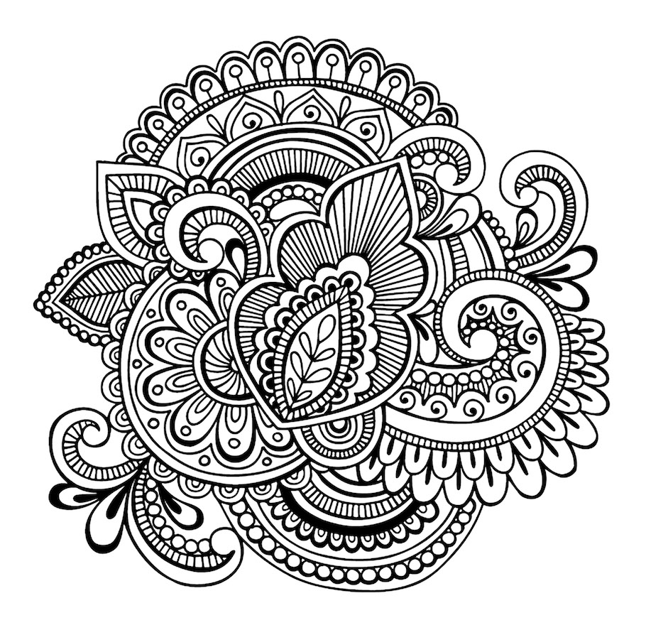unique mandala doodle - Unique Mandala Doodle