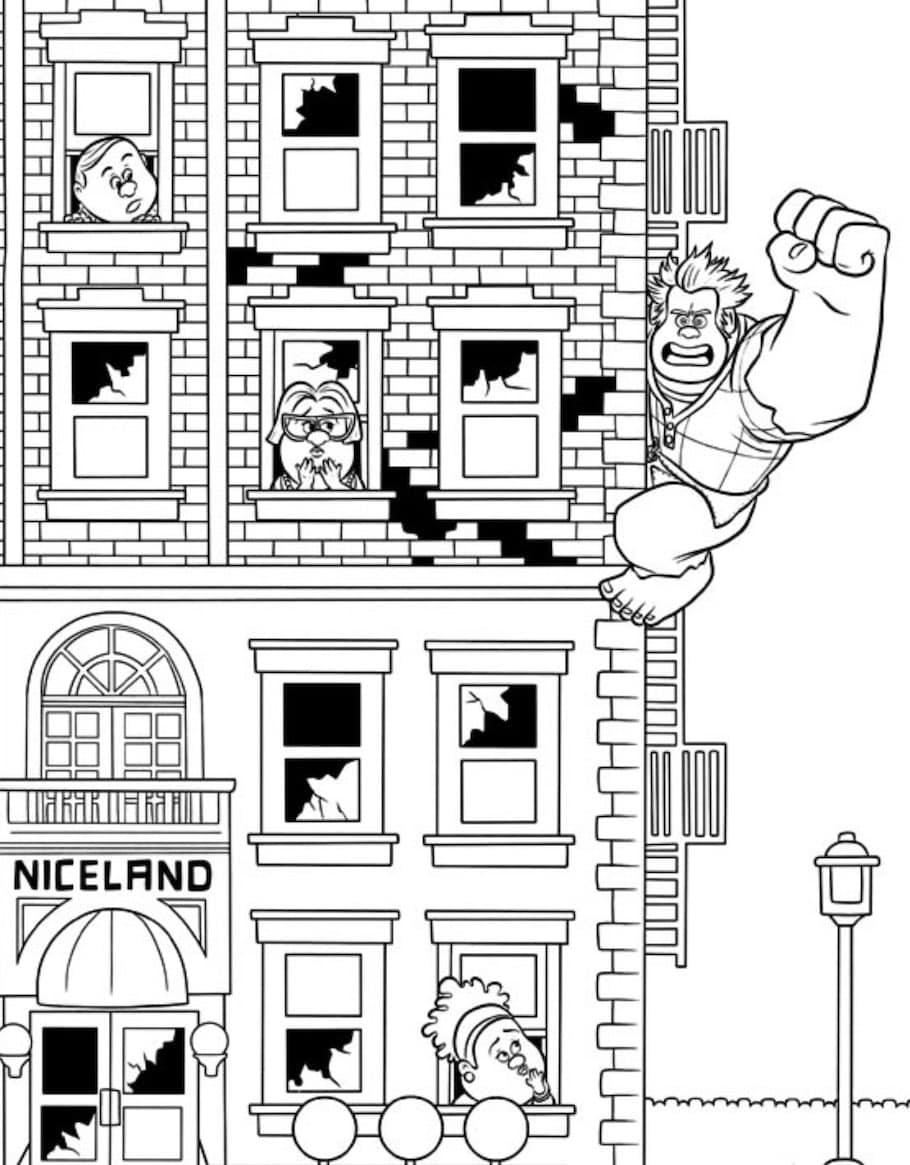 wreck it ralph doodle - Wreck it Ralph Doodle