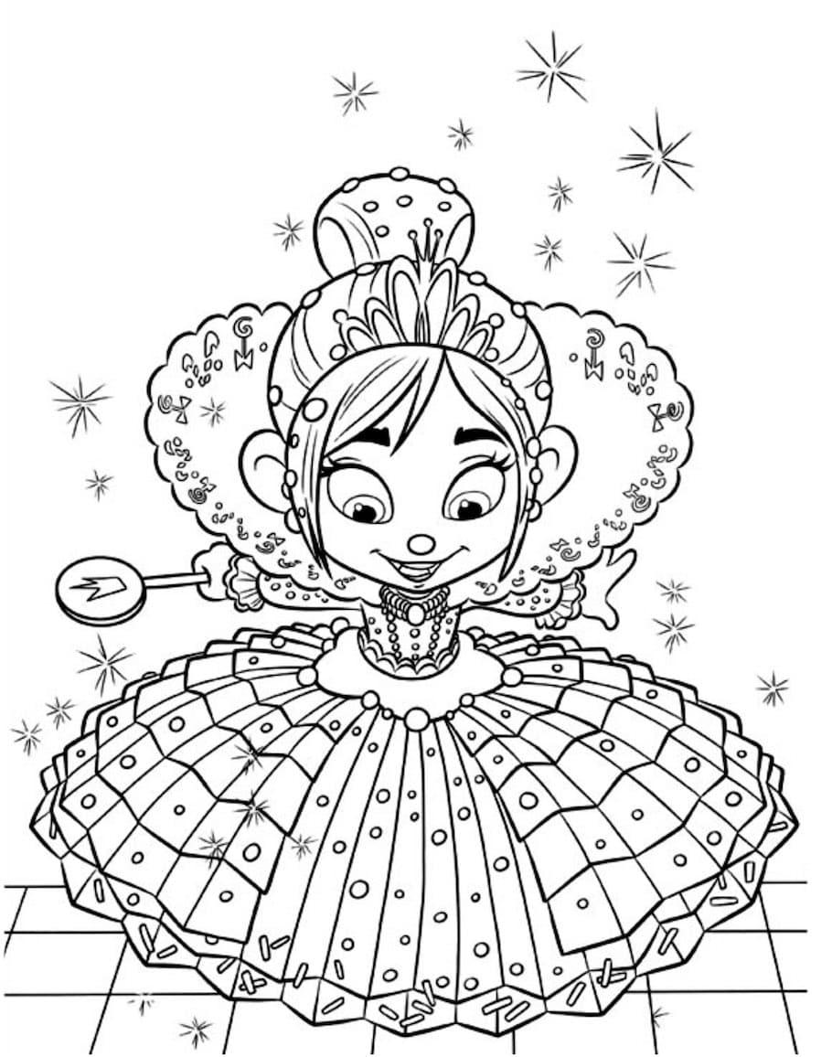 wreck it ralph princess doodle - Wreck it Ralph Princess Doodle