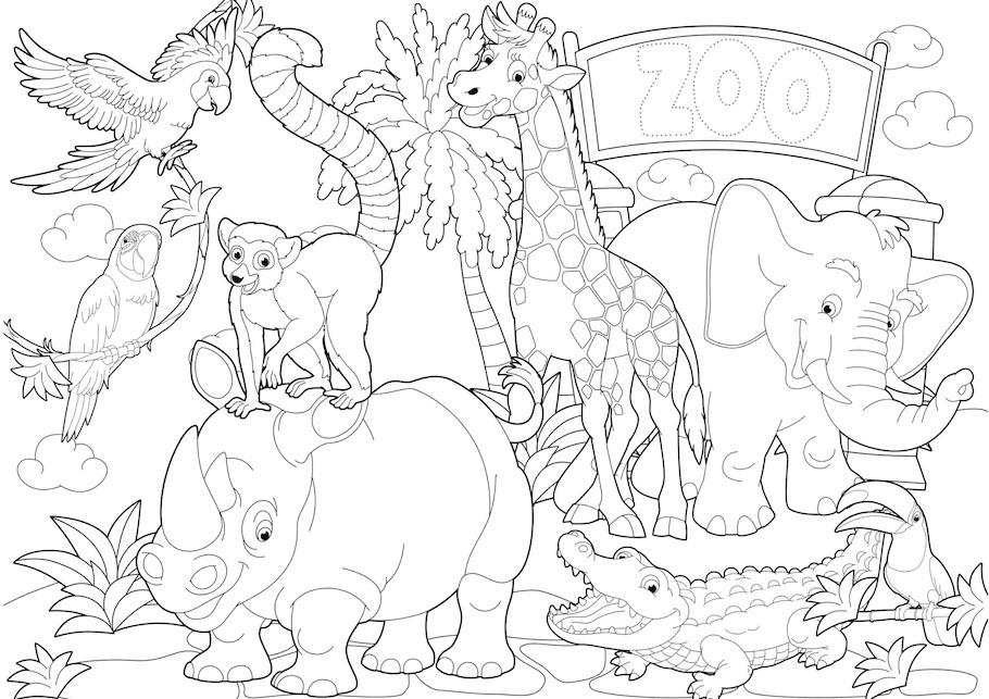zoo doodle - Zoo Doodle