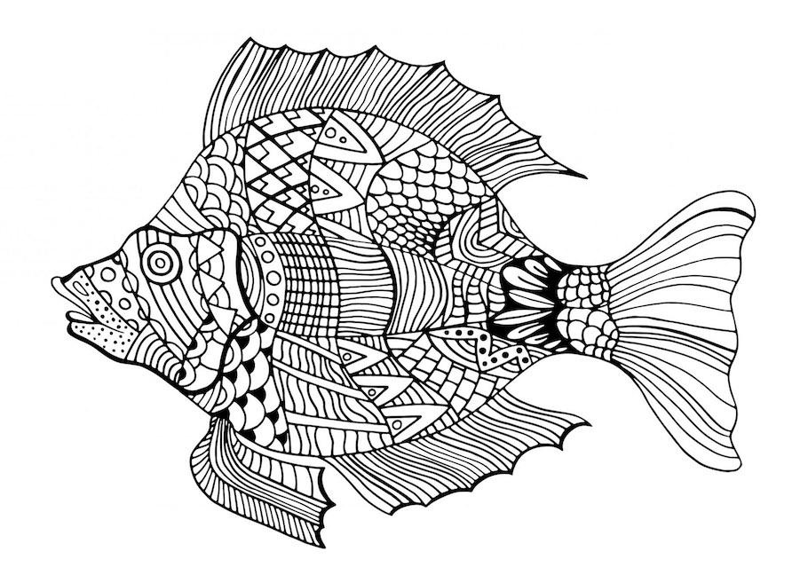 fish doodle - Fish Doodle